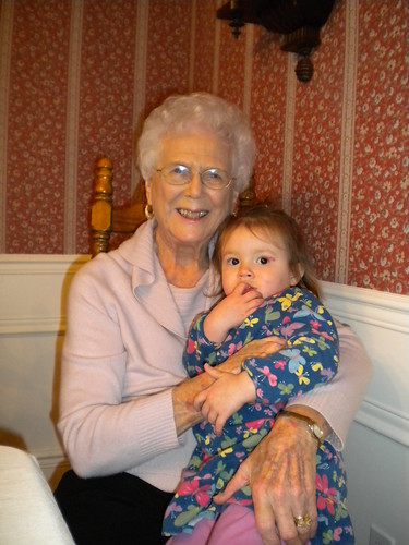 Grandma Smith and Zoe