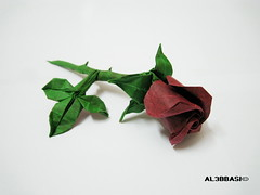 Rose (Al3bbasi.) Tags: rose origami brianchan al3bbasi
