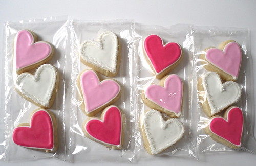 Small Valentine Hearts Packaged