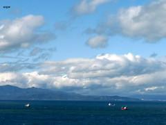 NUBES EN EL ESTRECHO (espe_caballa) Tags: africa mar spain nubes nwn ceuta embrujo estrechodegibraltar