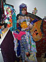 Dress up (Megan is me...) Tags: blue original red portrait orange green apple colors hat fashion rose self hair photography grey miniature diy amazing cool mixed eyes colorful neon pretty colours russell mckay candy bright sweet top turquoise unique oneofakind ooak awesome meg violet plum butterflies megan style mini flame lolita iguana kawaii jerome mandarin colored dye decora limelight mayhem punky dyed napalm mylittlepony specialeffects sfx rosered rainbowhair megface bluehairedfreak meganisme meganyourface