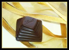 Golden Lindt (day 53) (EssjayNZ) Tags: gold chocolate ribbon essjaynz worth1000 challenge 2010 lindt 365day