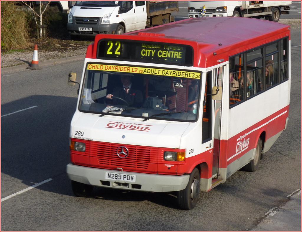 Plymouth Citybus 289 N289PDV