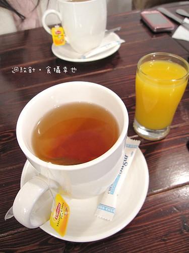 POSH III 柳橙汁與紅茶