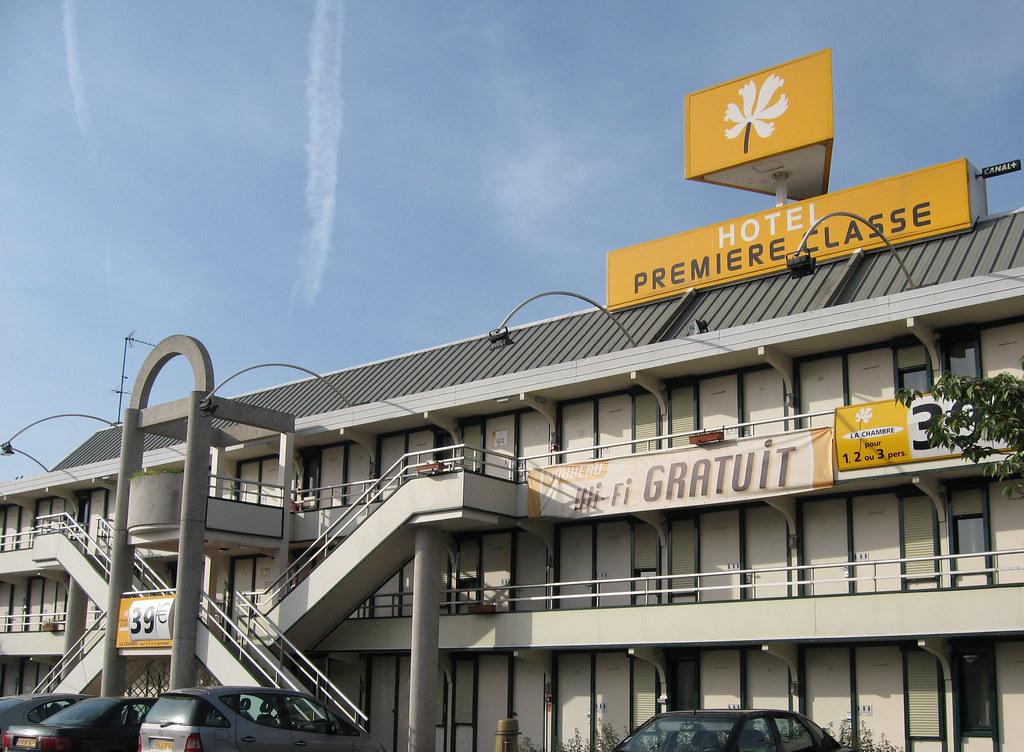 Hotel Premiere Classe de Rouen, semblable à tous les autres
