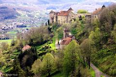 Château de Belvoir (didier95) Tags: montagne village chateau paysage paysages chateaux doubs mfcc franchecomte fabuleuse leuropepittoresque chateaudebelvoir