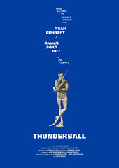 THUNDERBALL (Alistair Rhythm) Tags: art illustration poster movieposter filmposter seanconnery 007 jamesbond thunderball oo7 ianfleming