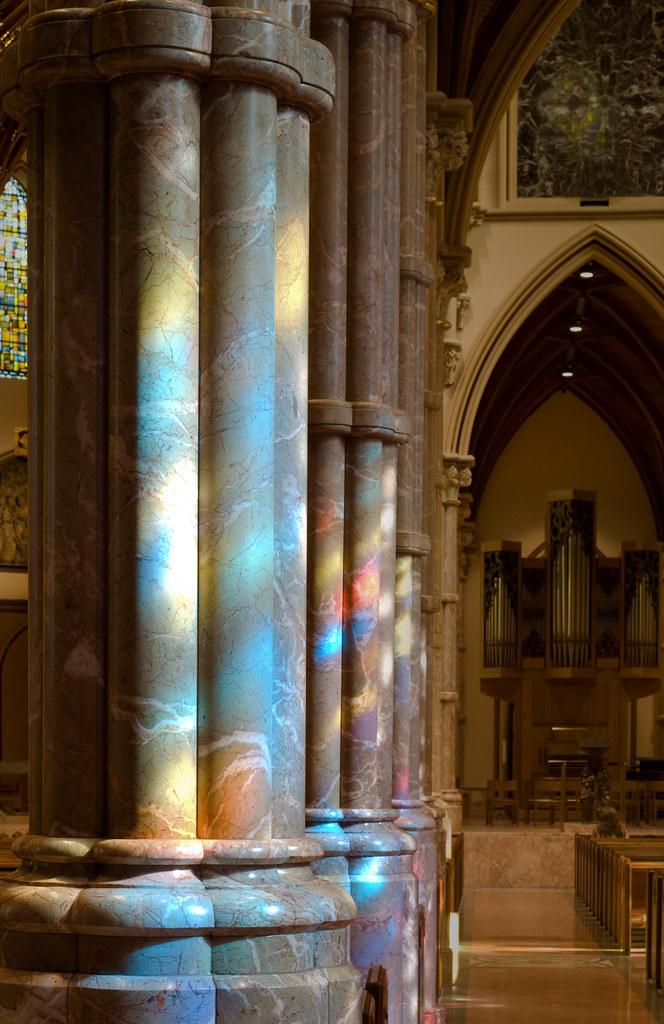 Columns of Light I