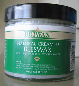 Briwax Natural Creamed Beeswax
