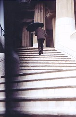 zoop (hannah lacey) Tags: barcelona old man stairs walking spain walk mary poppins