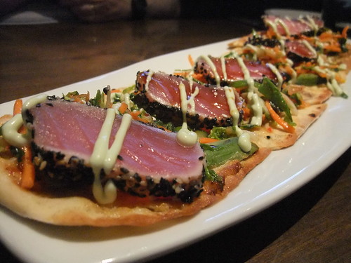 Ahi Tuna Flatbread from Matt the Miller's Tavern (Dublin, OH)