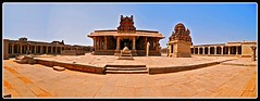 Krishna Temple_Panorama1 (Mukul Banerjee (www.mukulbanerjee.com)) Tags: india heritage history tourism temple photo ancient nikon ruins asia pics images tourist photographs dslr karnataka palaces bharat hampi southindia vijayanagar d60 northkarnataka historicalindia krishnadevaraya nikond60 vijayanagara indianheritage hindusthan vijayanagarkingdom bymukulbanerjee mukulbanerjee mukulbanerjee mukulbanerjeephotography mukulbanerjeephotography wwwmukulbanerjeecom