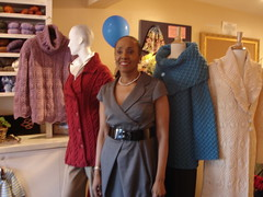 Shirley Paden at Westport Yarns