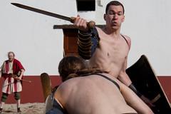 Archeon is open again! (hans s) Tags: fight roman archeon gladiator 2010