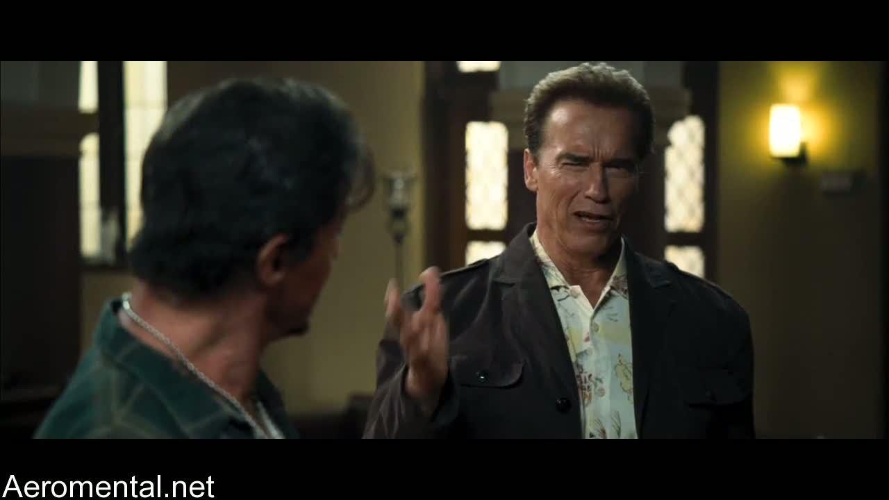 The Expendables Sylvester Stallone Arnold Schwarzenegger