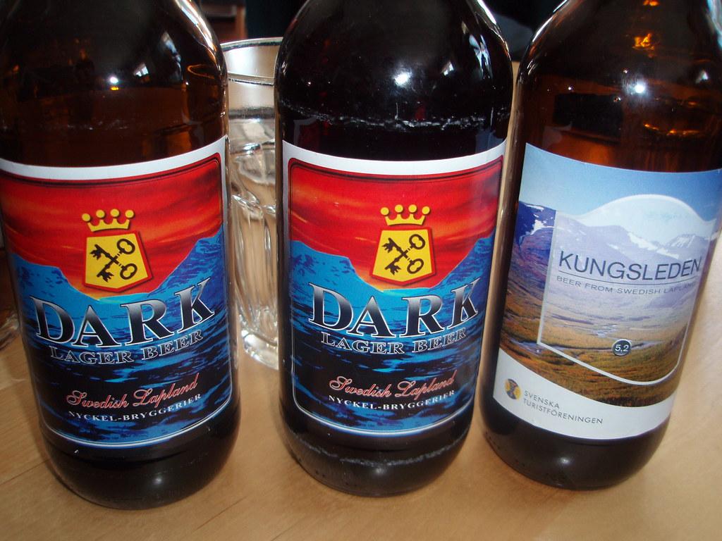 Dark y Kungsleden Beer