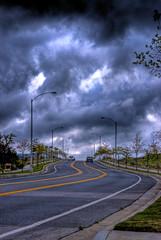 Street of Corona HDR
