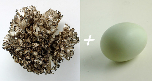 mushroom plus egg