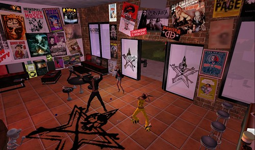 slackers party in second life