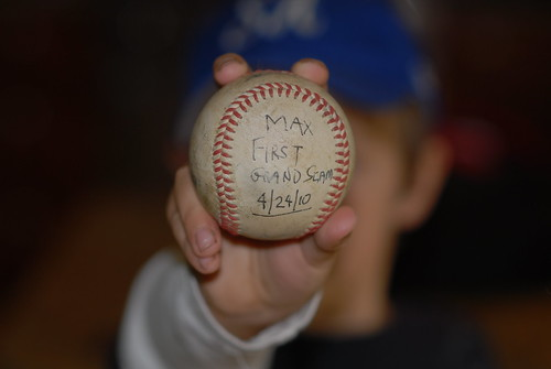 Grand Slam Homerun Ball