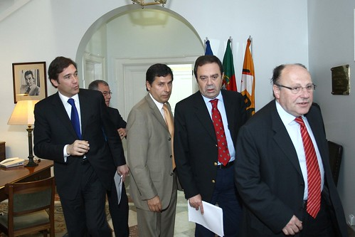 Pedro Passos Coelho-Reuniao com a UGT