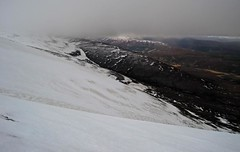 Coming Down (RoystonVasey) Tags: snow canon scotland highlands glen ixus 95 cairngorms feshie cgnp