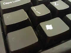 the left Ctrl button