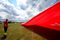 Bannerschlepp (freelenz) Tags: banner helicopter tow heli airfield fliegen worldrecord guinessbook bannerschlepp luftsportgruppe lsgerbslhlangenfeld