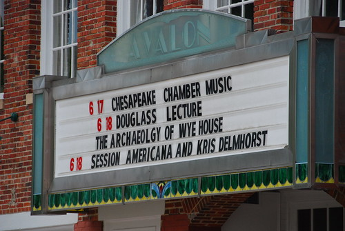 Marquee at the Avalon Theater. Source: Benjamin Skolnik