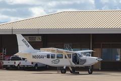 Air Ventures Airvan (dbcnwa) Tags: usa plane airplane island hawaii flying airport aircraft aviation kauai lihue lih aeronautical phli ga8 airvan airventures lihueairport ga8airvan n699av