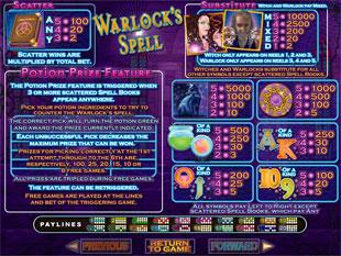 free Warlocks Spell slot mini symbol