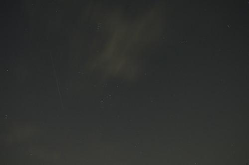 20091019オリオン座流星群