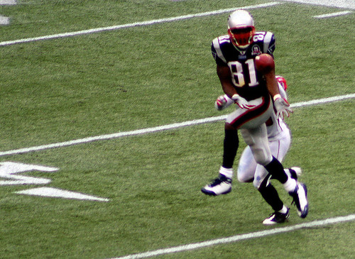 Moss catches one