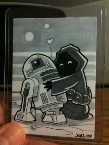 R2 and Jawa for Andy Runton