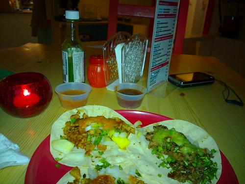 Tacos al pastor & de bistec in Stockholm