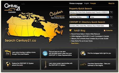 Century21.ca Homepage