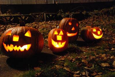 our pumpkin crew 2009