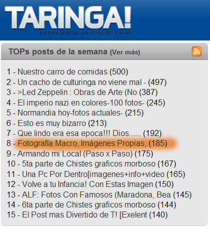 Macro I ~ Fotos Propias!