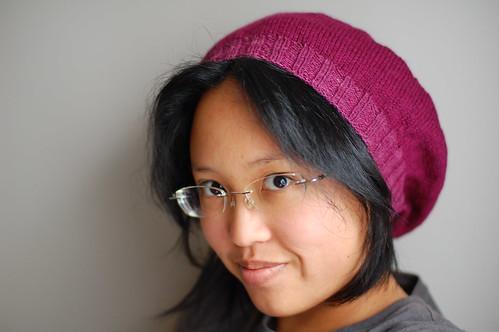 FO: raspberry beret