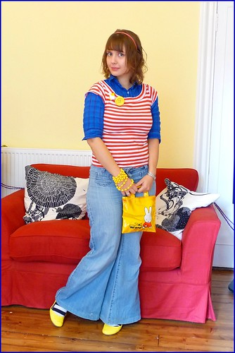 3.11.09: primary colours and stripes