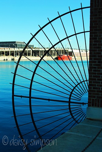 navy pier side