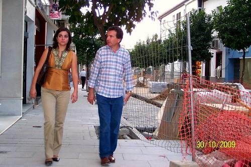 Visitando obras por El Viso: calle Rosario