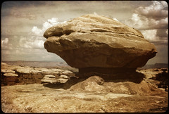 Slickrock Country (chinese johnny) Tags: southwest analog utah minoltax700 35mmfilm kodachrome scannedslide desertsouthwest redrockcountry ithinkthisisartaward flickrunitedaward royalgrup