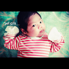 Got Milk? (jef cris) Tags: baby canon child stripes naturallight littlepeople gotmilk onemontholdbaby canon50mmf14 kidportrait canon400d filipinochild jefcrisyaneza lucasjoaquin