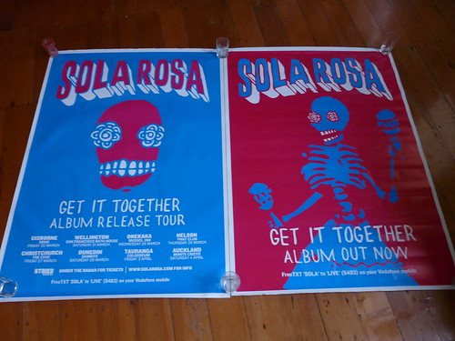 AO Get It Together NZ Tour Posters