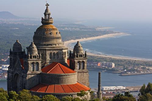 Portugal Trip Templo de Santa Luzia  Viana do Castelo