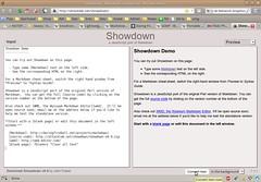 Showdown - Markdown converter