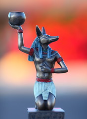 Anubis Egyptian God of the Dead (gbrummett) Tags: dead twilight bokeh tombs anubis ancientegypt ancientegyptian 50v5f canonef135mmf2lusmlens canoneos5dmarkiicamera grantbrummett