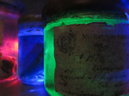 Christmas in the Miskatonic Labs, image by Laura Burns on Flickr