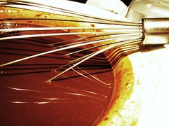 chocolate crunched caramel tart - 08